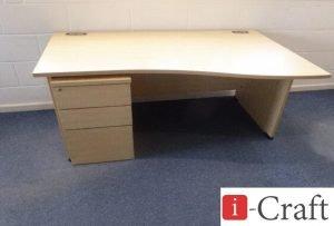 стол офисный волна